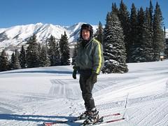 steve on skis!