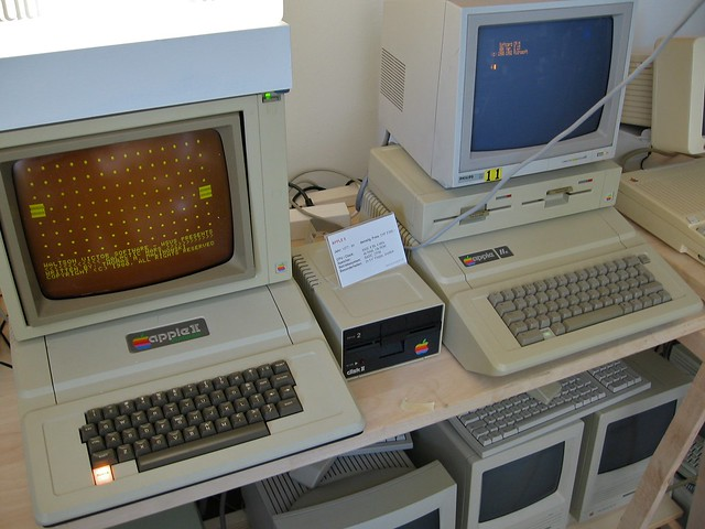 Apple II and IIe