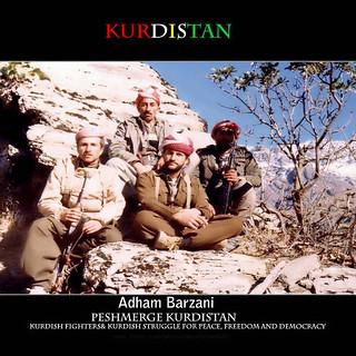 Adham Barzani Peshmerge kurdistan