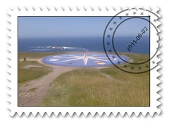 text, postage stamp,
