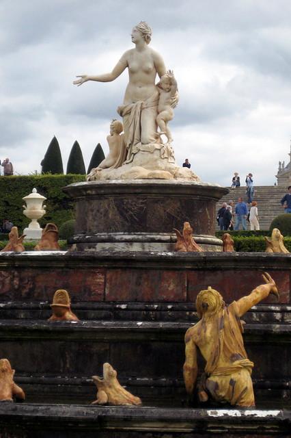 Versailles jardins du ch teau de versailles bassin et p for Jardin chateau de versailles