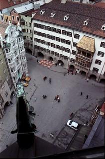 Das Goldene Dachl in Innsbruck / Tirol