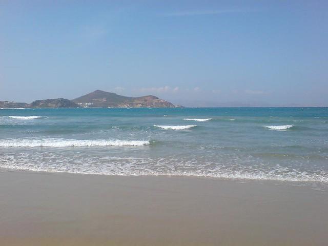 Naxos пляж