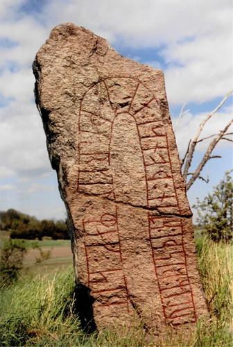 geotagged sweden scandinavia inscription västergötland läckö runestones terrascania anticando