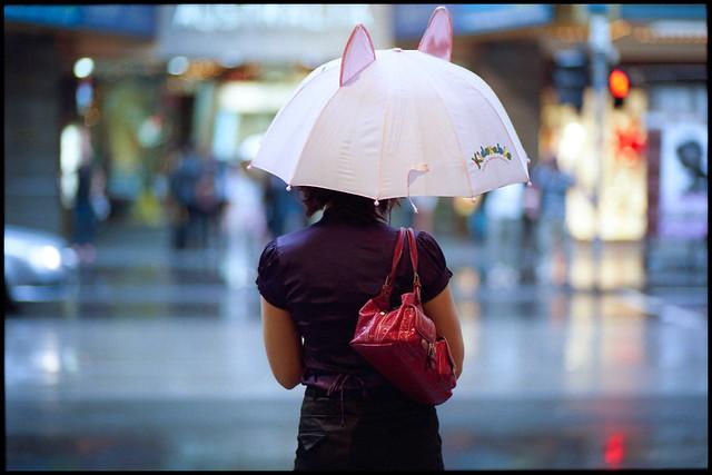 Pink Ears, Nikon F3