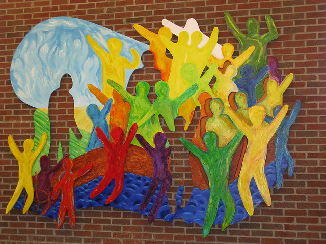 College of education mural flickr photo sharing for Education mural