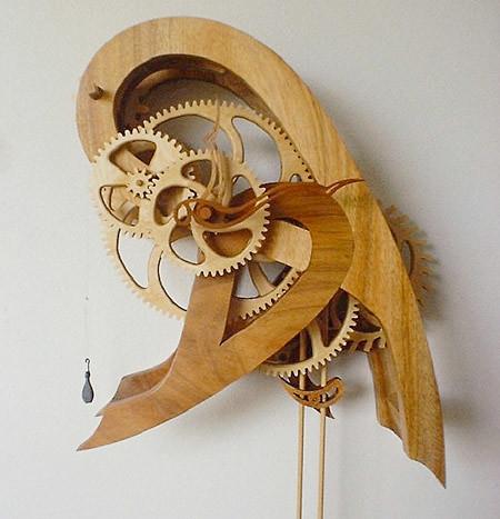 Paisley Clock