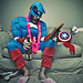 Something about superhero's, Muppets™, whiskey, stuffed animals and pink slippers (062/365) by wiseacre photo