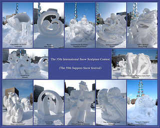 The 35th International Snow Sculpture Contest