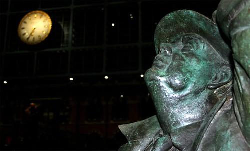 The Sir John Betjeman Statue at St Pancras