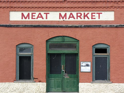 """Meat Market""? I'm not sure if it is still standing."