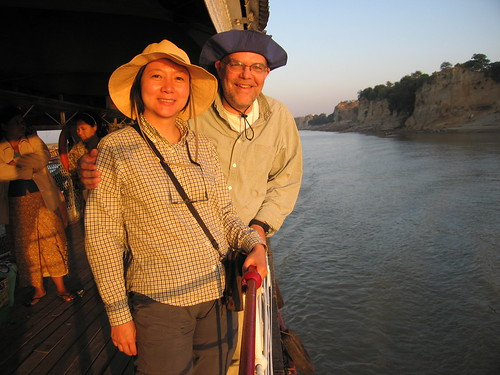 Week 3 - On the slowboat to Bagan - Irrawaddy River, Myanmar (Burma)