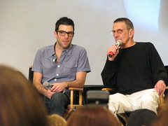 Quinto and Nimoy Together