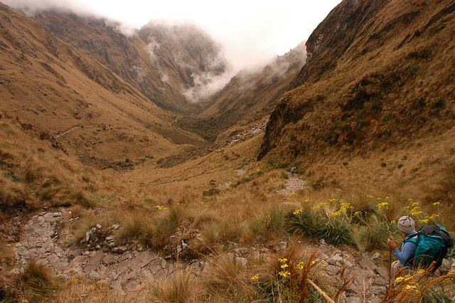 Hiking Down the Inca Trail