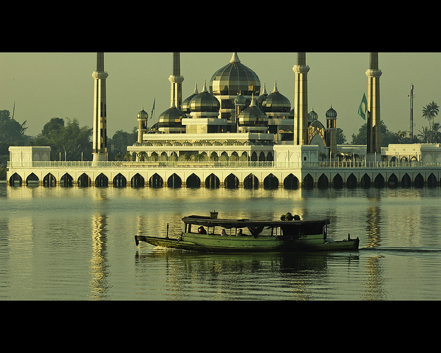 Serenity by the Crystal Mosque (Masjid Kristal)