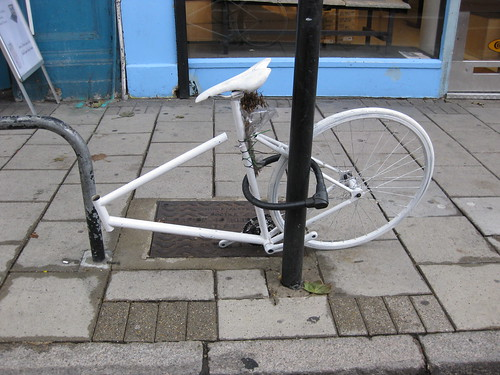 Ghost Bike theft!