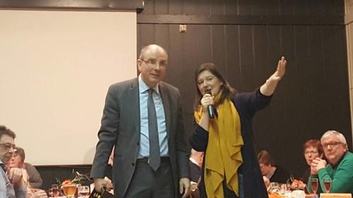 Gastspreker eetfestijn Cindy Frassen