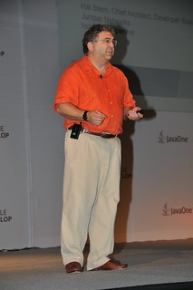 Mr Hal Stern from Juniper Networks @ JavaOne & Oracle Develop Conference 2011