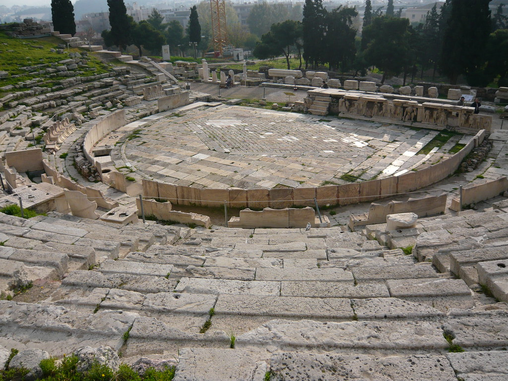 Theatre of Dionysus / Театърът на Дионисий