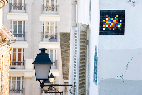 Space Invader à Paris