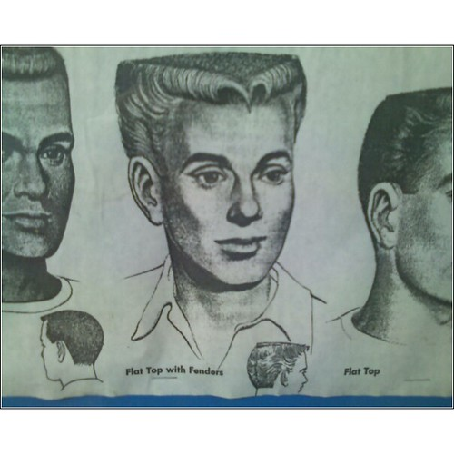 Flat Top With Fenders Haircut