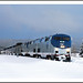 Winter Ride - California Zephyr in Fraser, Colorado by sjb4photos