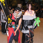 Final Fantasy X - Lulu and Auron