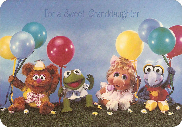 Muppets a gallery on Flickr – Muppet Birthday Card