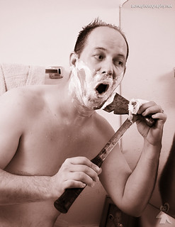 Acme MonoBlade Shaving Razor Revolution! - Self Portrait | by ACME-Nollmeyer