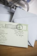 postage samples