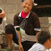 Gejia Woman Laughing - Guizhou Province, China