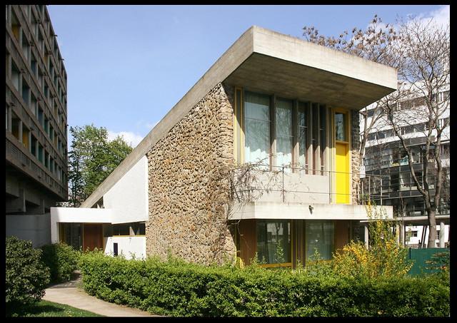 Maison du br sil cit universitaire 1953 59 paris xiv a photo on flickr - Maison du bresil paris ...
