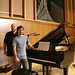 Steinway Grand Piano recording session by Brian A Petersen