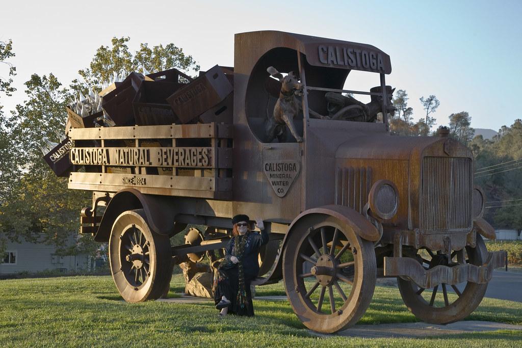 Calistoga Water Truck