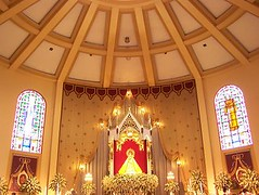 The Altar of our Lady of the Most Holy Rosary La Naval de Manila