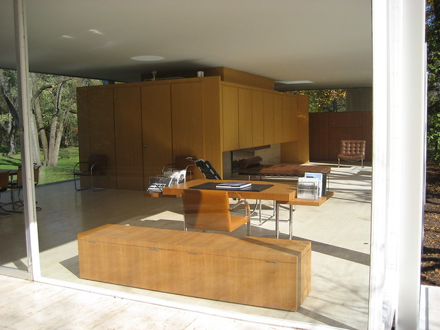 Farnsworth House Interior You 39 Re Not Allowed To Take Photo