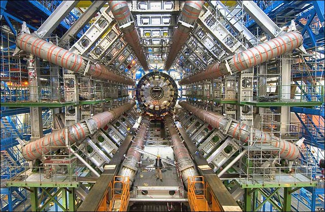The Large Hadron Collider/ATLAS at CERN, image by Image Editor