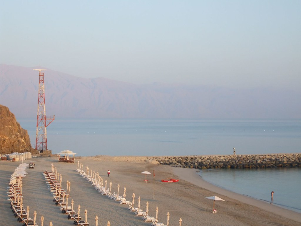 JAL Hotel Beach in the evening
