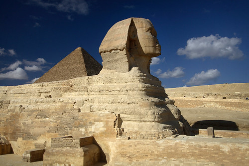Sphinx, Cairo by Dietmar Temps