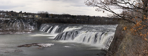 new york autostitch panorama ny river waterfall upstate panoramic falls mohawk cohoes