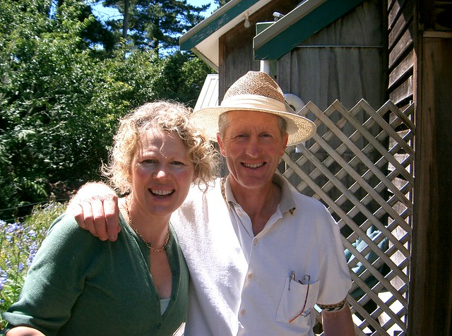 the osmands, best wwoof hosts ever (photo by sabine)