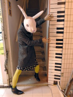 Rabbit Loves Piano