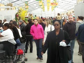 Main aisle, Eastern Market, DC