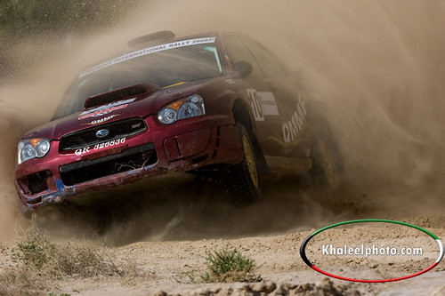 Kuwait international rally 2008