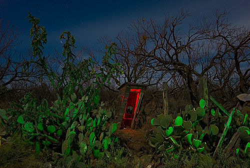 abandoned night town ruins texas ghost outhouse eskota