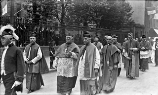 The march of the Archbishops - Bishops etc., outside Pro Cathedral, Congress 1932, Dublin City