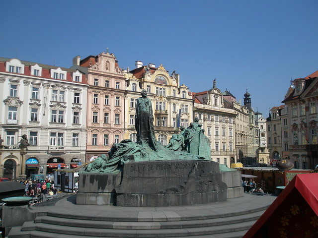 Statue in Old Town Square