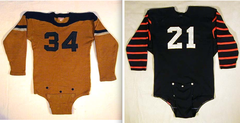 One thing I mentioned in the column is that some early football jerseys  used to have that crotch extension ... 33f014a63