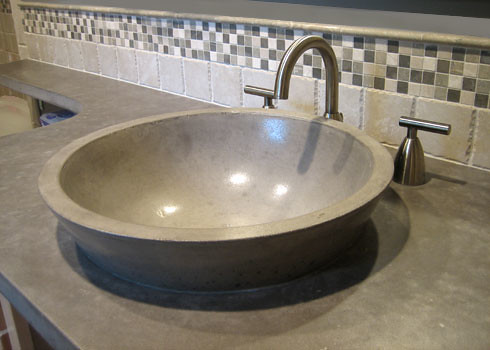 Concrete vessel sink flickr photo sharing for How to make a vessel sink