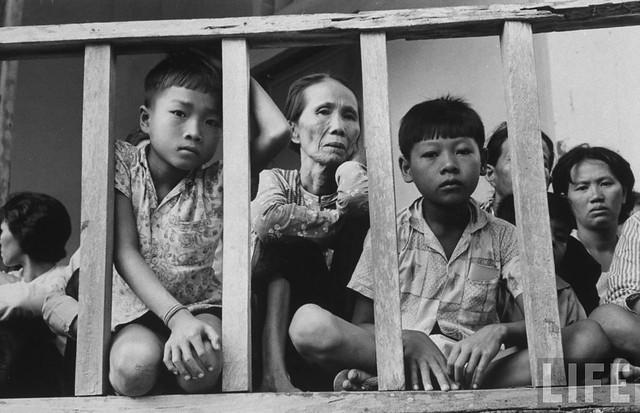 In Pnompenh, Cambodia - Vietnamese living in Cambodia await interrogation in Church (8)